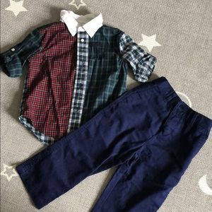 Ralph Lauren holiday outfit 24M
